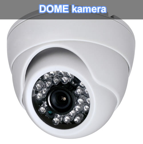dome kamere, sve za video nadzor, kamere