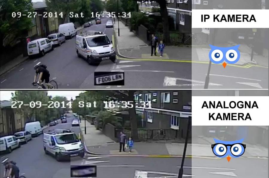 IP kamere VS Analogne kamere