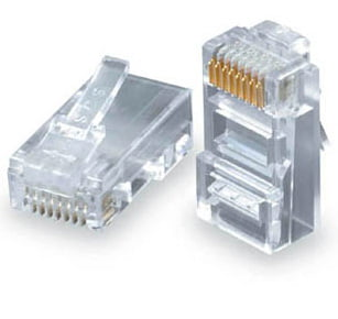 UTP konektor, kablovi, sve za video nadzor