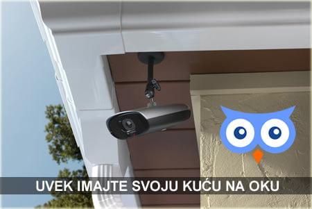 Video nadzor za hišo, kamero zunaj