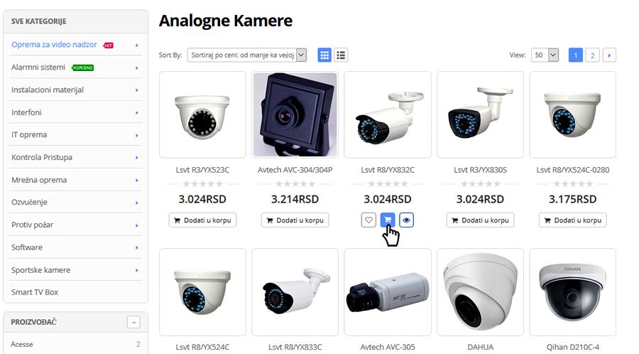 Kako kupiti - proizvod, Sve za video nadzor