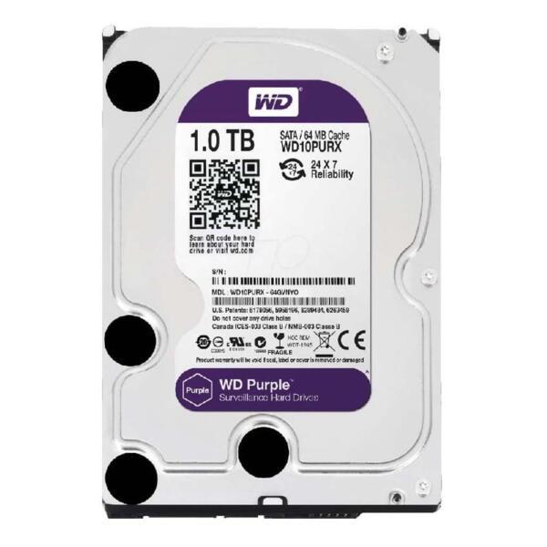 Hard disk WD Purple WD10PURX 1TB SATA3 2