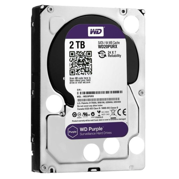 Hard disk WD Purple WD20PURX 2TB SATA3