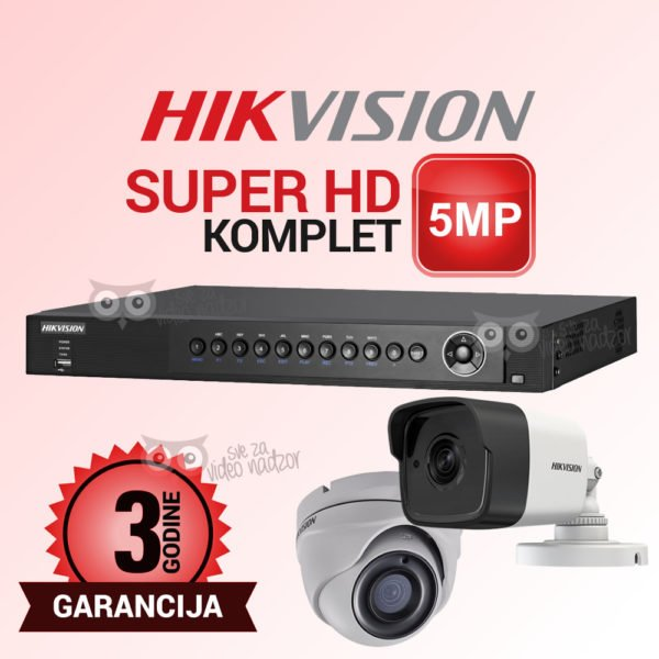 HIKVISION-5MP-DVR-2T-12V-10FPS