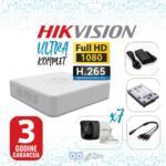 HIKVISION-2MP-DVR-1T-12V-7K