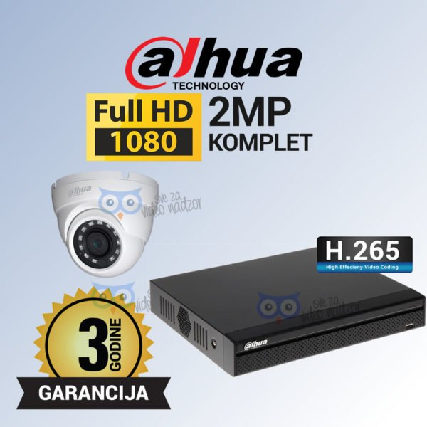 DAHUA-2MP-DVR-1T-12V-LITE
