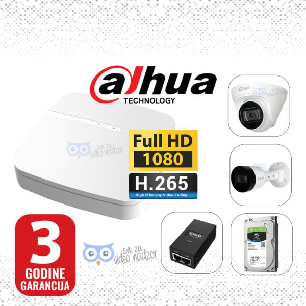 DAHUA-IP-2MP-NVR-1T-12V-1-3