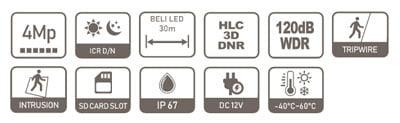 DAHUA IPC-HFW2439S-SA-LED-0280B-S2