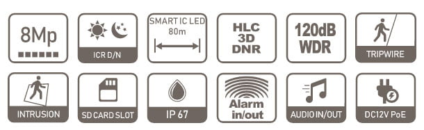 IPC-HFW2831T-AS-0360B-S2 specifikacija