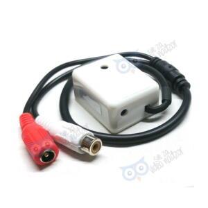 mikrofon sa kutijicom i konektorima