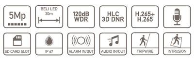 specifikacija IPC-HFW3549E-AS-LED-0280B