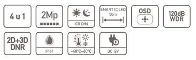 HAC-HDW2241TE-0280B specifikacija
